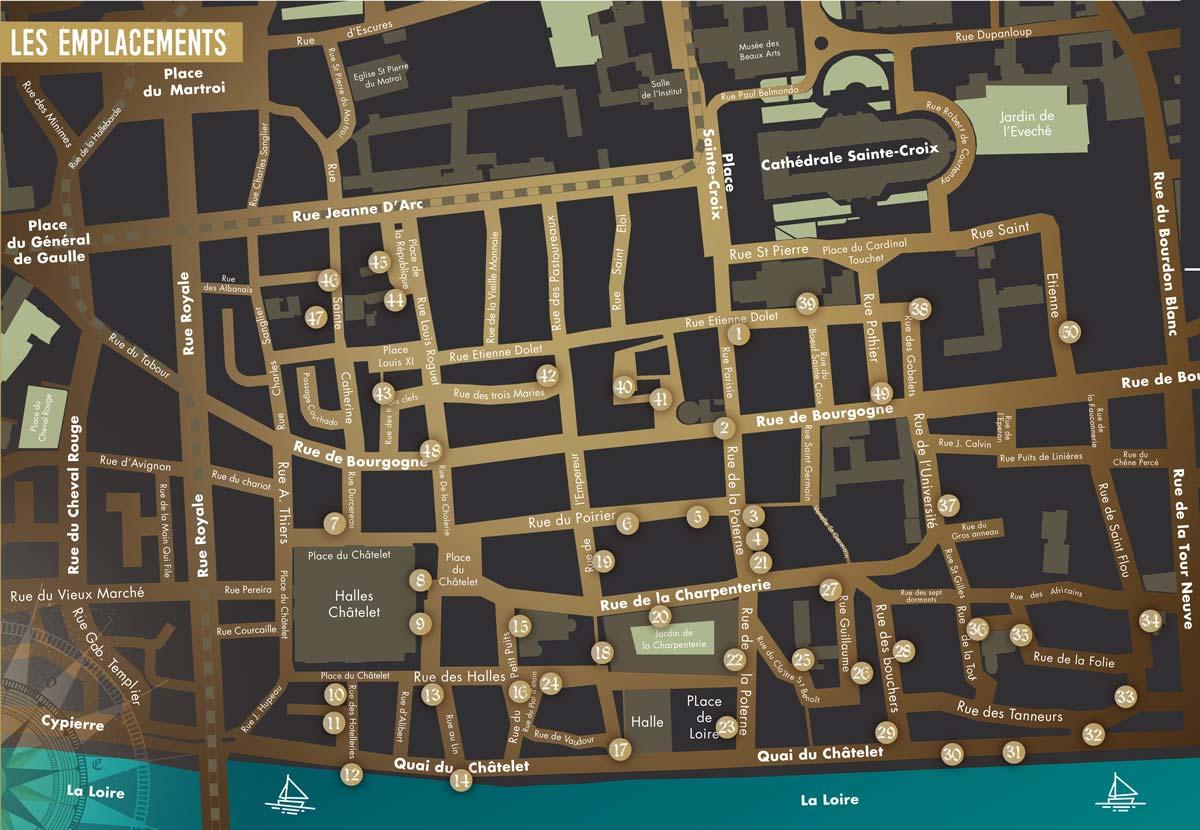 Les témoins d'Orléans : le parcours